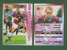 West Ham United Don Hutchison Scotland 103